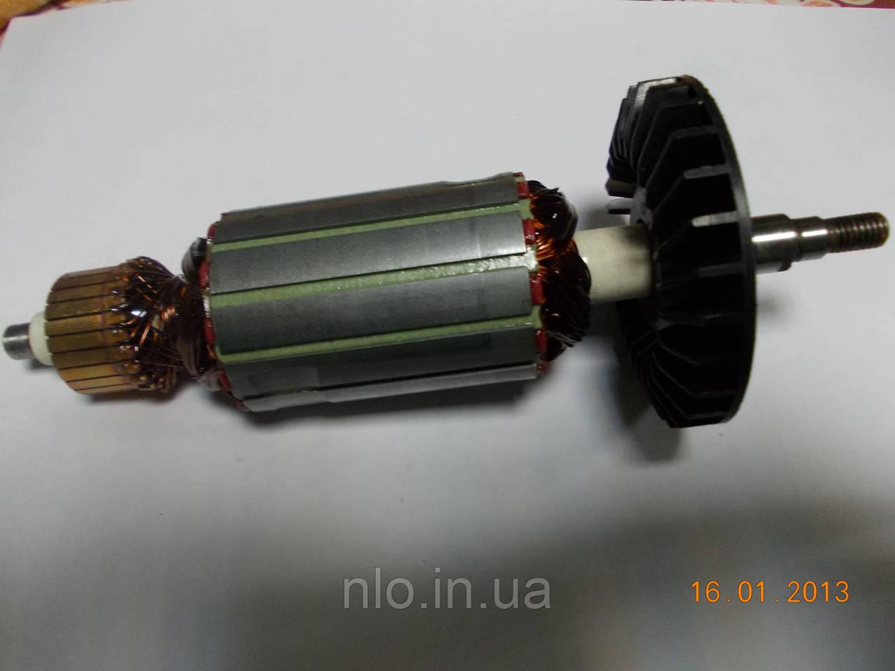 Якорь болгарки 180 SL (186х43, шлиц 9 мм)