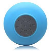 Голубая водонепроницаемая беспроводная колонка hi-Shower для душа
