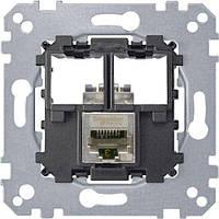 Механизм компьютерной розетки RJ45 cat.5e (STP) Merten MTN4575-0011