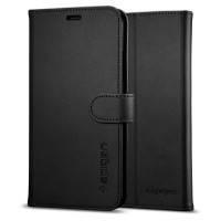 Чехол Spigen Wallet S Black для iPhone X