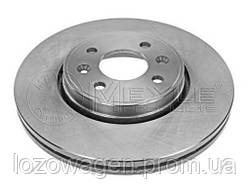 Тормозной диск передний 280mm.на Renault Kangoo 01>08 MEYLE 16-15 521 0004
