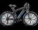 """Горный велосипед SPELLI SX- 5700  26"""" 19""""  Черный/Синий"""