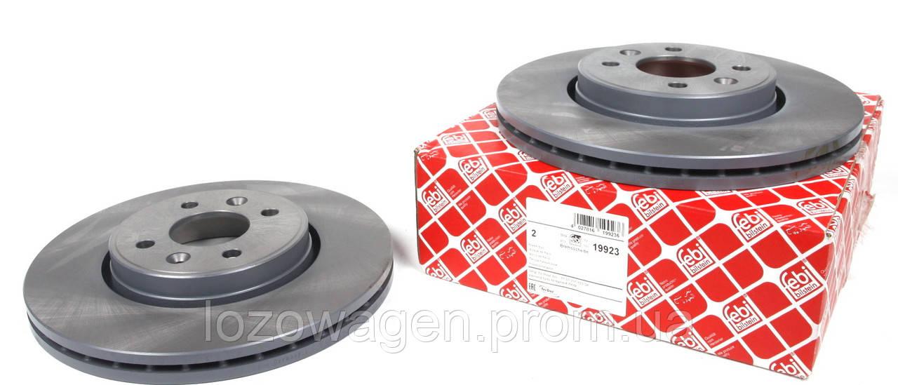 Тормозной диск передний 280mm.на Renault Kangoo 01>08 FEBI BILSTEIN 19923