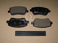 Колодка тормозной NISSAN/RENAULT MICRA/MODUS передний (Производство ABS) 37395, ADHZX