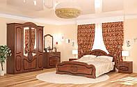 Спальня Барокко, мдф  (Мебель-Сервис)