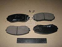 Колодка тормозная SUZUKI GRAND VITARA передн. (производство ABS) (арт. 37531), ADHZX