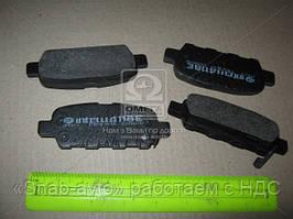 Колодка тормозной (Производство Intelli) D118E, ABHZX