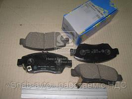 Колодка тормозная HO Civic 91--,Fit  07-,Domani 92-,Integra 93-,Stream 00- (производство MK Kashiyama) (арт. D5070M), ADHZX