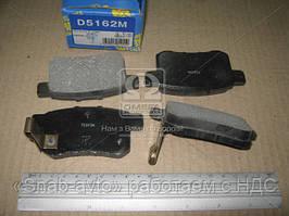 Колодка тормознаязад. HONDA ACCORD 2.0-2.4 МКПП 08- (производство MK Kashiyama) (арт. D5162M), AEHZX