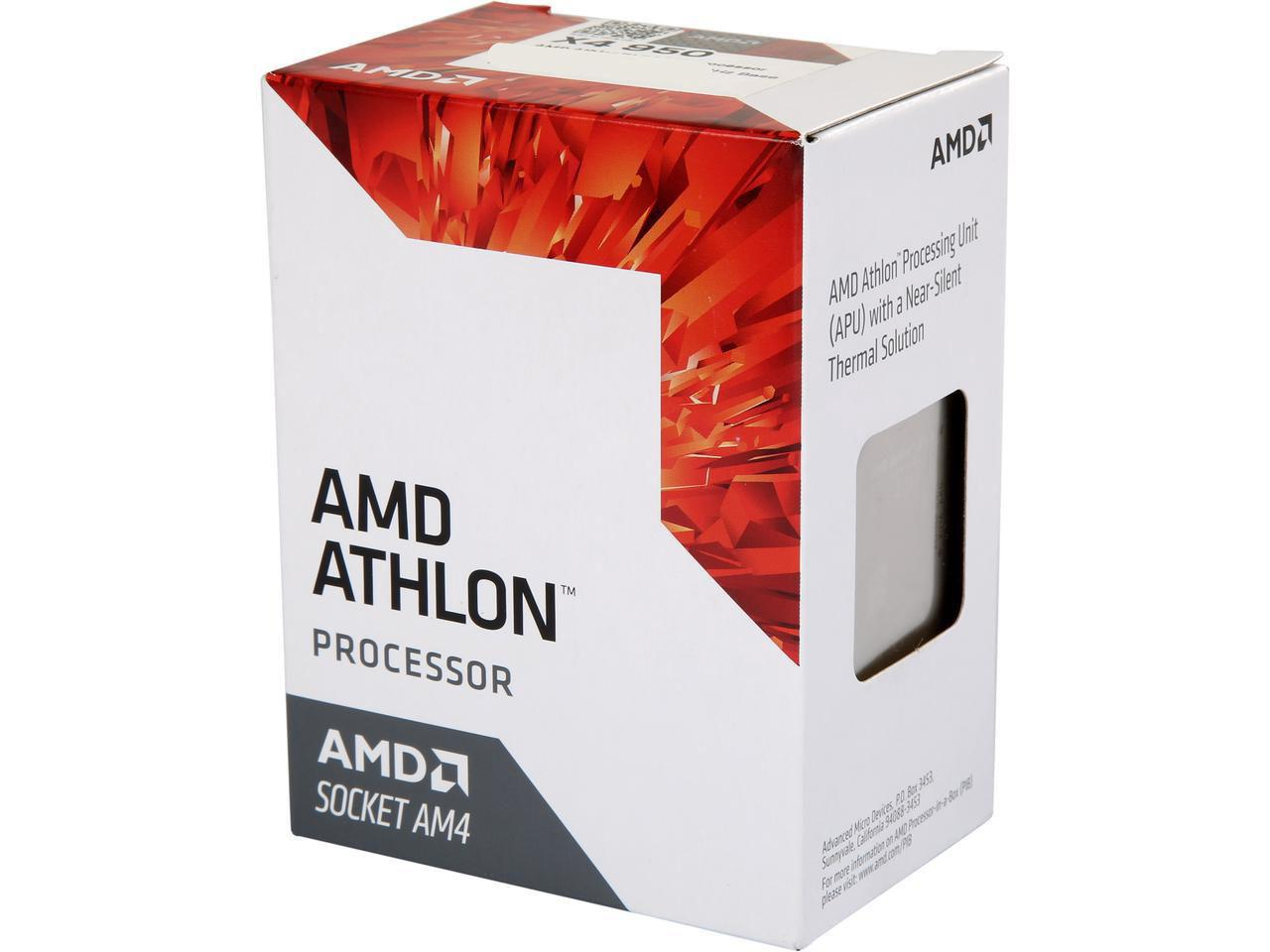 "Процессор AMD Athlon X4 950 3.5GHz/2MB (AD950XAGABBOX) AM4 BOX ""Over-Stock"""