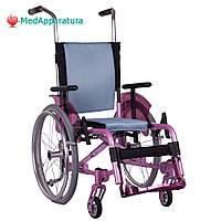 Легкая коляска для детей «ADJ KIDS» розовая