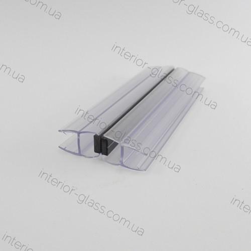 Магнитный уплотнительный профиль для душевых кабин HDL-211