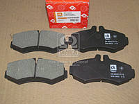 Колодка тормозная дисковая MB SPRINTER, VITO 97-03 передн.  (арт. DK.0004214110), ABHZX