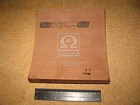 Накладка тормоз КРАЗ 6505 задний (Производство Трибо) 6505-3502105