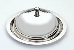 Блюдца с крышкой {Маслёнка} Ø 135 мм (шт)