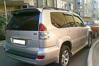 Спойлер дефлектор Toyota Prado 120 оригинал серебро окрашенный