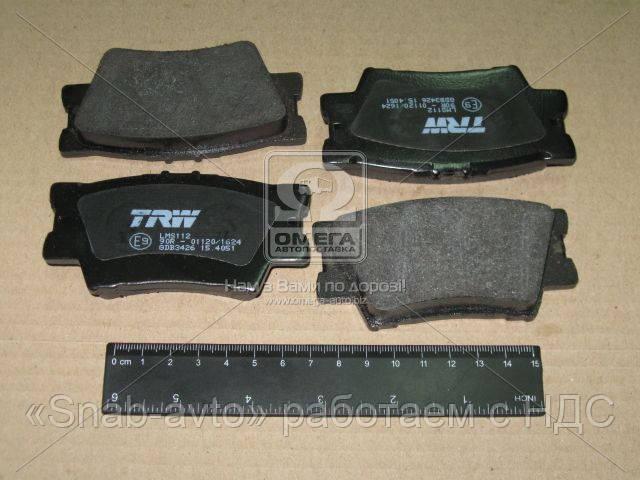 Колодка тормозная TOYOTA CAMRY, RAV 4 задн. (производство TRW) (арт. GDB3426), AEHZX