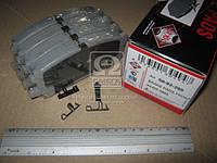Колодка тормозная LEXUS RX (производство ASHIKA), ADHZX