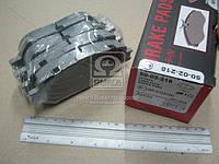 Колодка тормозная TOYOTA CAMRY (производство ASHIKA) (арт. 50-02-218), ADHZX