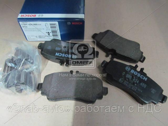 Торм колодки дисковые (производство Bosch) (арт. 0 986 424 469), ADHZX
