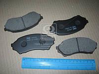 Колодка тормозная дисковая MAZDA 323 BJ 98-04 (производство PARTS-MALL), ABHZX