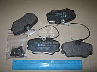 Колодка тормозная PEUGEOT 405 передн. (производство REMSA), ACHZX