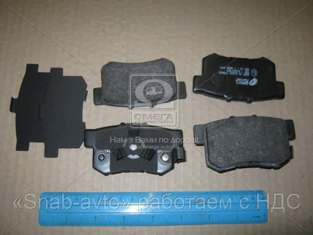 Колодка тормозная HONDA ACCORD, CR-V задн. (производство REMSA) (арт. 0325.04), ADHZX