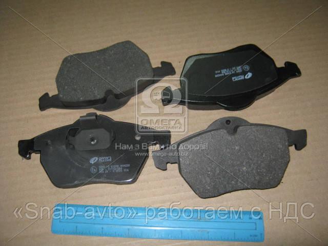 Колодка тормозная OPEL VECTRA B, передн. (производство REMSA) (арт. 0390.10), ADHZX