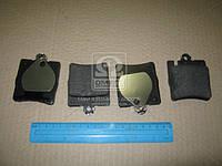 Колодка тормозная MB C-CLASS (W203, S202), задн. (производство REMSA) (арт. 0709.10), ADHZX