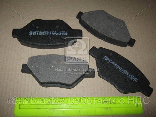 Колодка тормозная RENAULT MEGANE II (производство Intelli) (арт. D516E), ACHZX