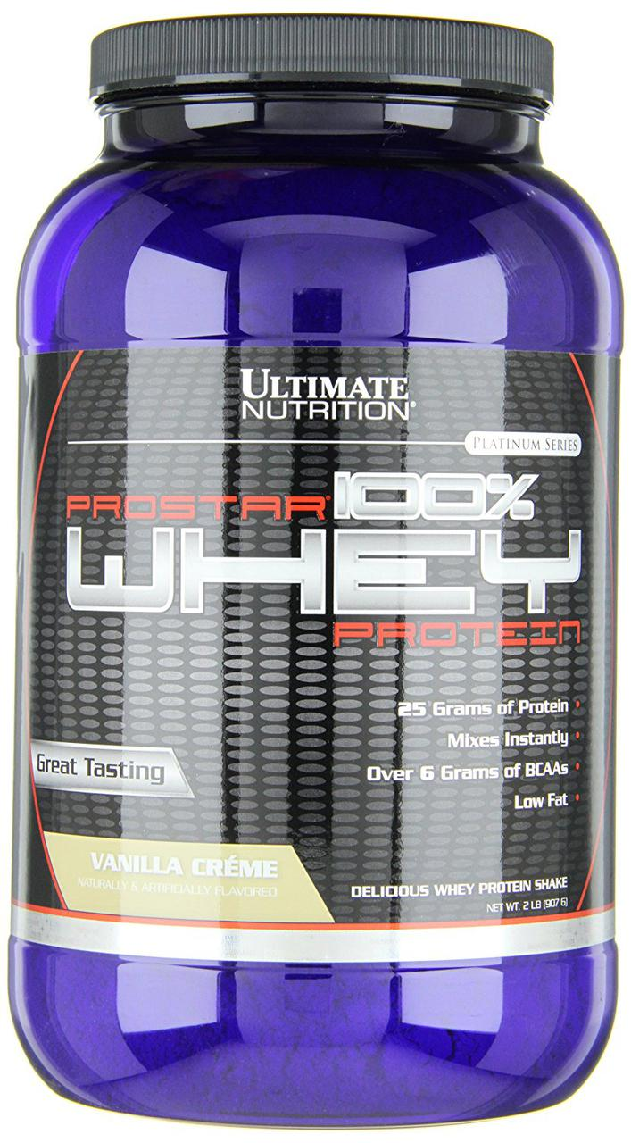 Протеин Ultimate Prostar Whey 100% 907 g