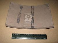 Накладка тормоз МАЗ, КРАЗ задний (Производство Трибо) 200-3502105А