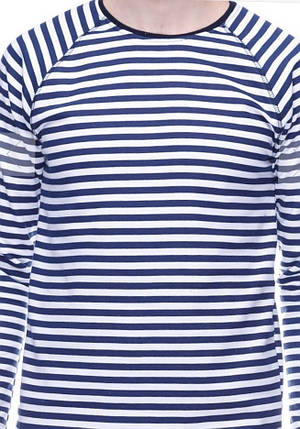 Лонгслив синяя полоса, фото 2