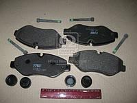 Колодка тормозная MB SPRINTER передн. (производство TRW) (арт. GDB1698), AFHZX