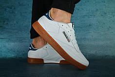 Весенние мужские кроссовки Reebok Club White топ реплика