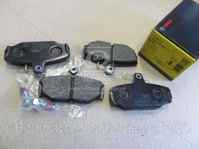 Торм колодки дисковые (производство Bosch) (арт. 0 986 460 995), ACHZX