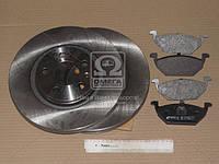 Комплект тормозной передн. SEAT LEON,SKODA OCTAVIA 97- , GOLF 97- (пр-во REMSA), AGHZX