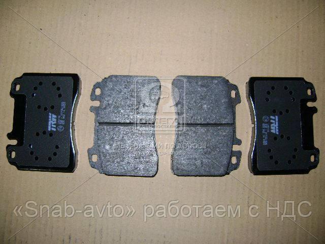 Колодка тормозная MB 190 (W201), C-CLASS (W202) передн. (производство TRW) (арт. GDB962), AEHZX