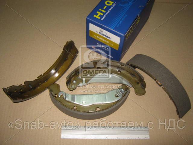 Колодка тормозная барабанная CHEVROLET EVANDA 2.0I, 2.5I 99- задн. (производство SANGSIN) (арт. SA119), AEHZX
