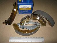 Колодка тормозная барабанная CHEVROLET AVEO/AVEO II R13 задн. (производство SANGSIN) (арт. SA129), ACHZX