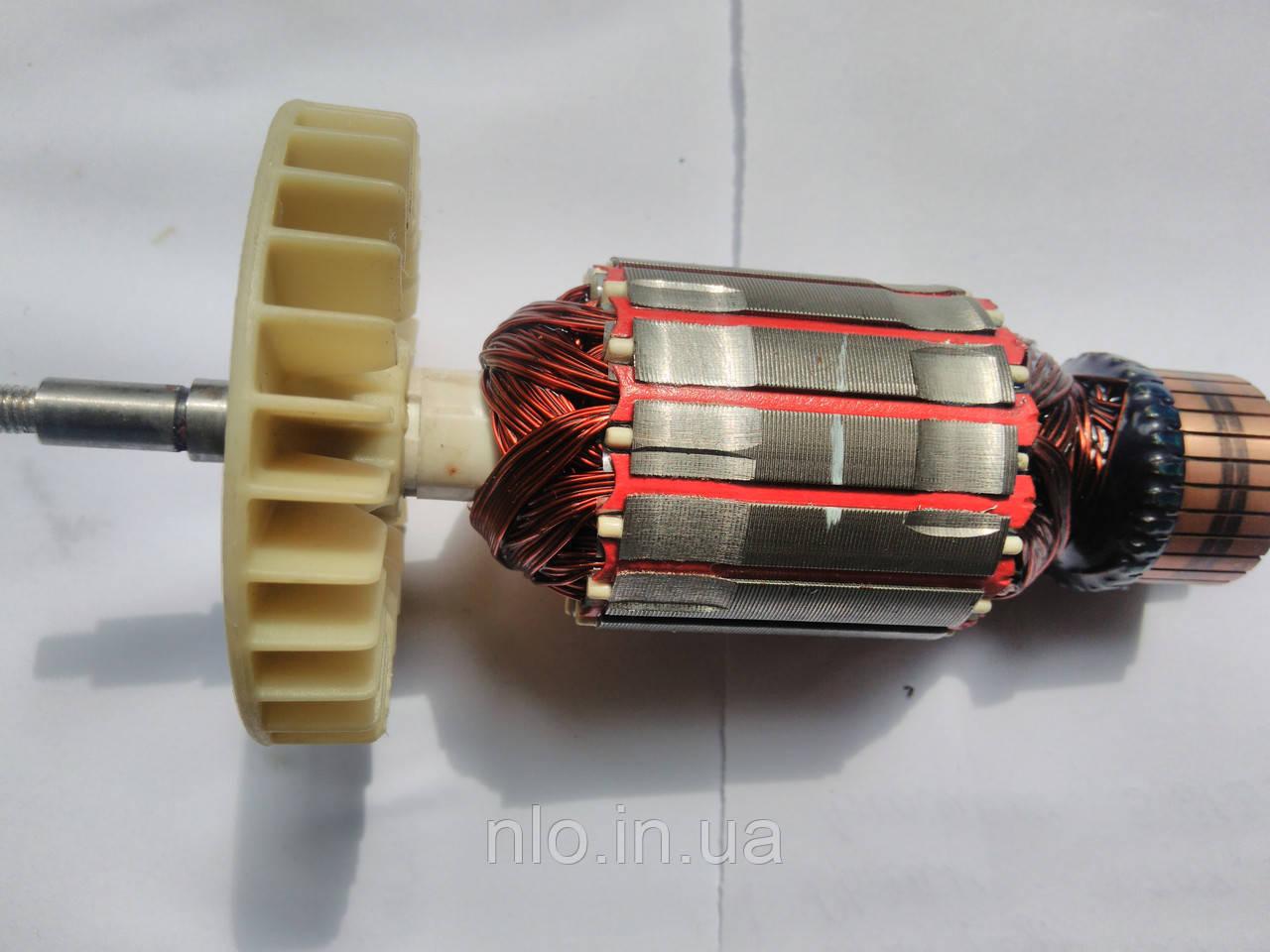 Якір для електропили ланцюгової 406 2800 профі (176х47 посадка 8 мм, різьба 6 мм)