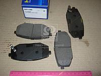 Колодка тормозная KIA OPIRUS передн. (производство SANGSIN) (арт. SP1185), ACHZX