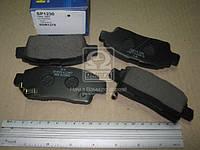 Колодка тормозной TOYOTA YARIS 1.0 16V, 1.3 16V 99-03 передний (Производство SANGSIN) SP1230, ACHZX