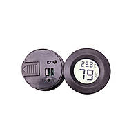 Гигрометр-термометр круглый; -50~ +70°C; 0.1°C; AG13 battery; 45 x 14m