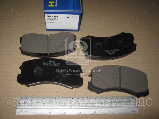 Колодка тормозная MITSUBISHI LANCER (производство SANGSIN) (арт. SP1255), ACHZX
