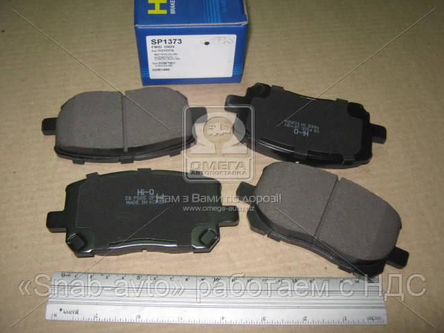 Колодка тормозная TOYOTA AVENSIS VERSO 2.0D-4D 16V 01.08- передн. (производство SANGSIN) (арт. SP1373), ACHZX