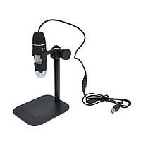 Микроскоп 50-500х USB с подставкой