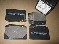 Колодка тормозная ВАЗ 2101 перед. (комплект 4шт.) (производство Intelli) (арт. D656E), AAHZX