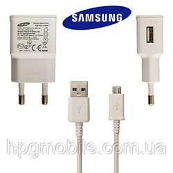 Сетевое зарядное устройство Samsung ETAU90EWEGSTD micro USB travel charger 10W