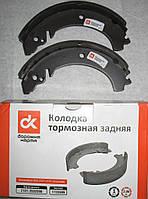 Колодки тормозные ВАЗ 2101-07 задние (комплект 4 шт) (пр-во Дорожная карта)